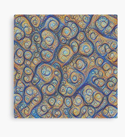 Stones #DeepDream Canvas Print