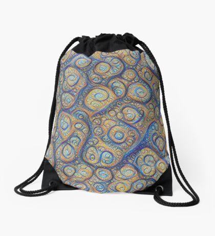 Stones #DeepDream Drawstring Bag