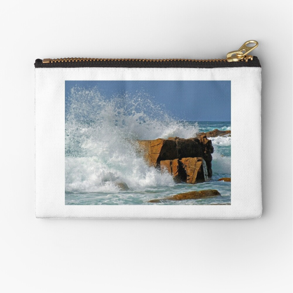 A force of nature Zipper Pouch