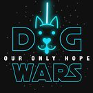 Dog Wars Funny Star GEEK Movie Parody T shirt by DesIndie