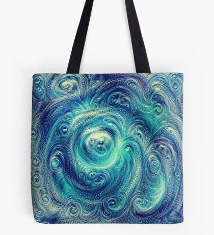 Cyclone #DeepDream Tote Bag