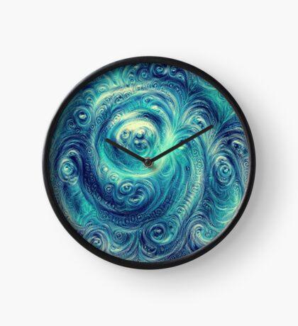 Cyclone #DeepDream Clock