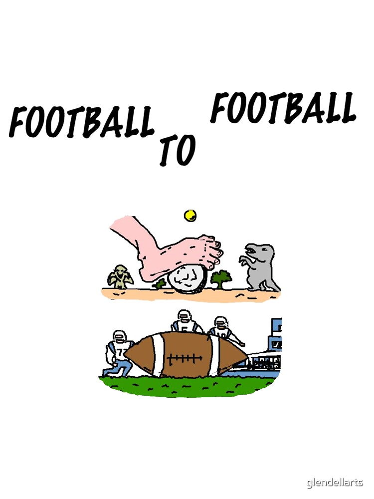 Football To Football by glendellarts
