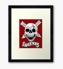 Vampire Skull Framed Print