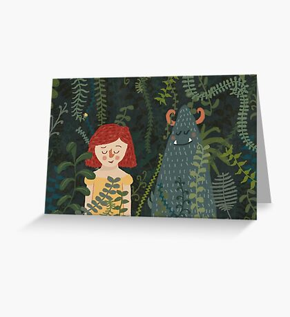 the jungle Greeting Card