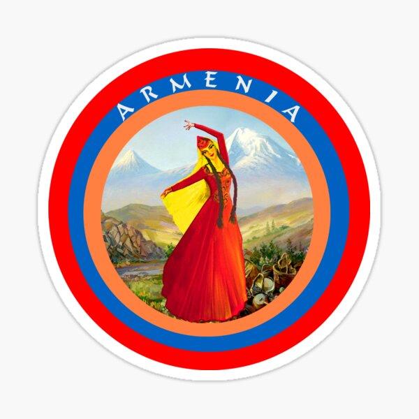 Armenian Dancer Sticker