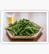 Edamame and Beer Sticker