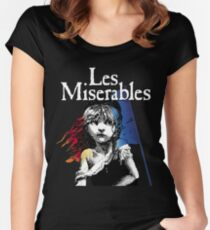 Miserables Musical Women's Fitted Scoop T-Shirt