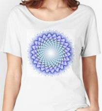 Abstract fractal illustration Women's Relaxed Fit T-Shirt