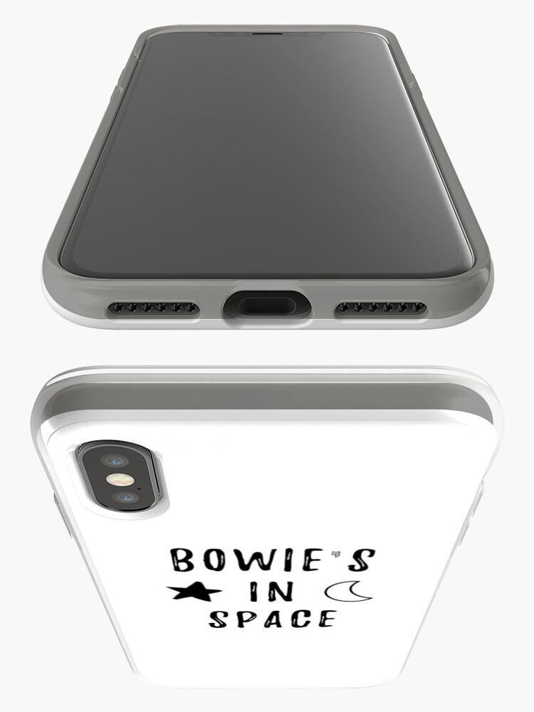 Vista alternativa de Funda y vinilo para iPhone Bowie & # 39; s en el espacio
