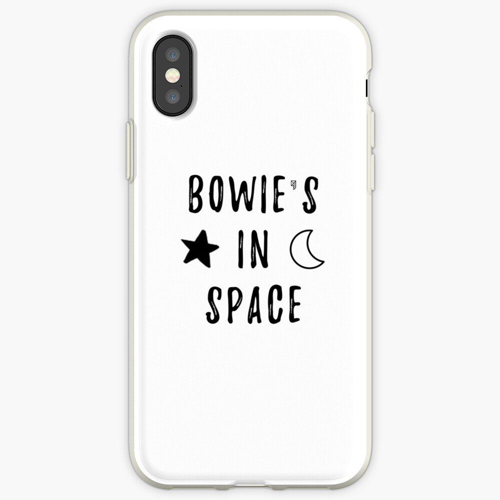 Bowie & # 39; s en el espacio Funda y vinilo para iPhone