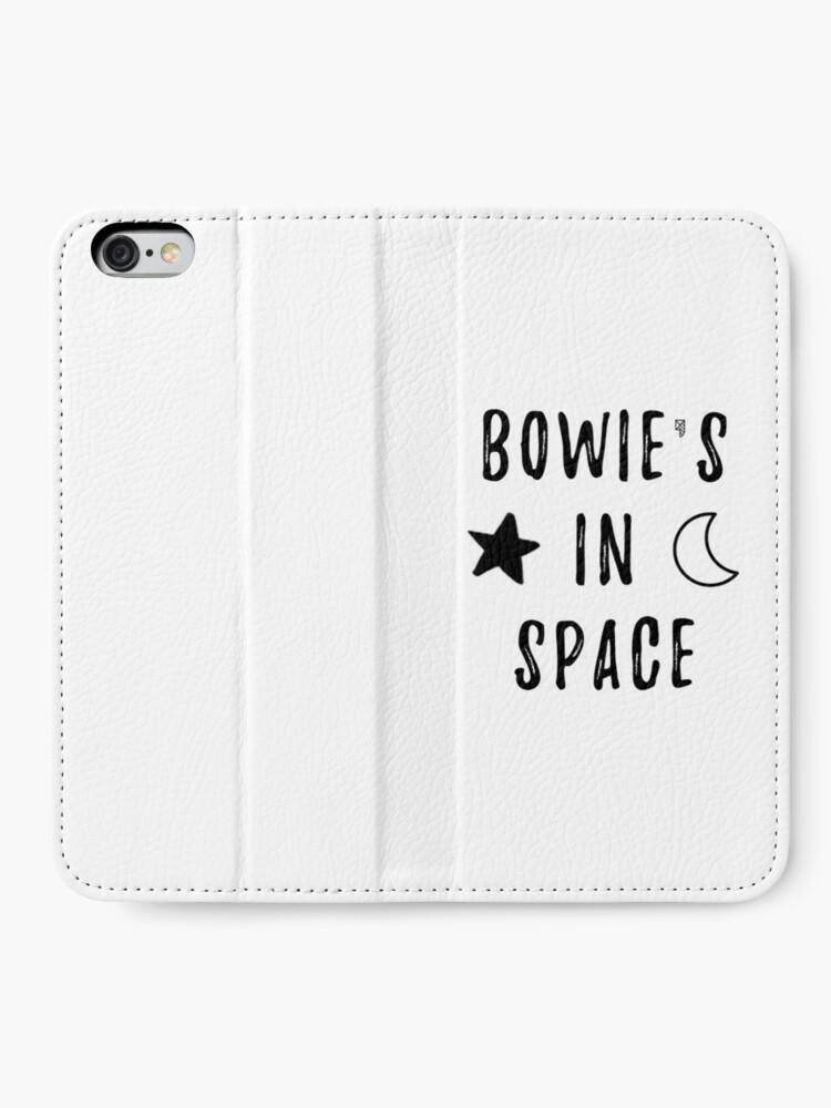 Vista alternativa de Fundas tarjetero para iPhone Bowie & # 39; s en el espacio
