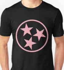 Pink Tennessee State Flag  Unisex T-Shirt