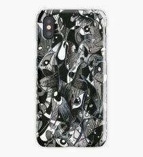 Un cri dans la nuit iPhone Case/Skin