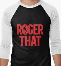 Roger That - Roger Federer Men's Baseball ¾ T-Shirt