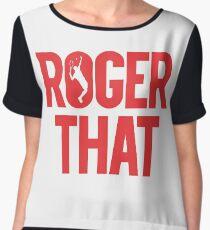 Blusa Roger That - Roger Federer