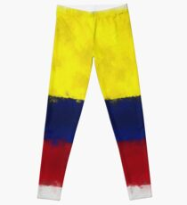 Colombia Flag Reworked No. 66, Series 5 Leggings