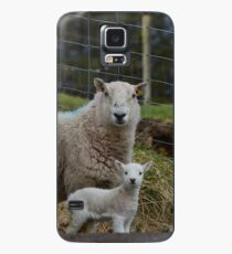 Lamb - Spring Smiles Case/Skin for Samsung Galaxy