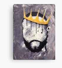 Naturally King Canvas Print