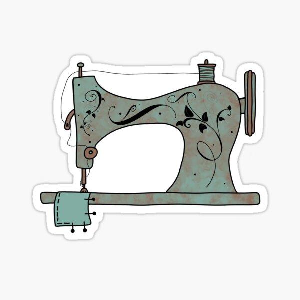 Dejarlo coser Pegatina