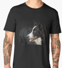 Collie Portrait Men's Premium T-Shirt