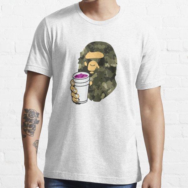 Green Camo Lean Bape Ape Essential T-Shirt
