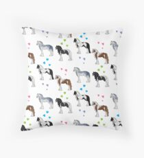 Gypsy Cob pattern 1 Throw Pillow