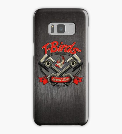 T-Birds' Speed Shop Samsung Galaxy Case/Skin