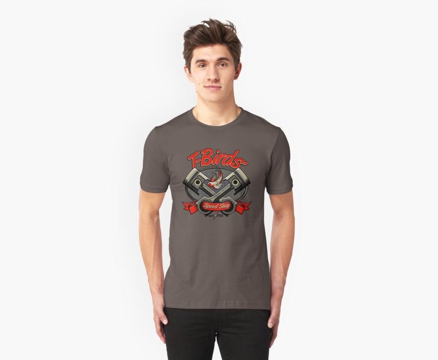 T-Birds' Speed Shop by rubyred