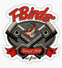 T-Birds' Speed Shop Sticker