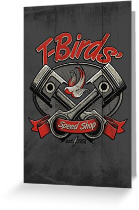 T-Birds' Speed Shop by rubyred