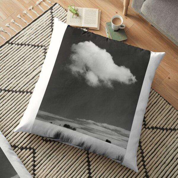 Die weiße Wolke ... Bodenkissen