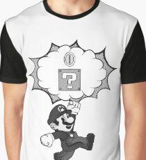 Super Mario Pop Graphic T-Shirt
