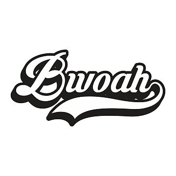 Bwoah | Monochrome | F1 by SpeedFreakTees