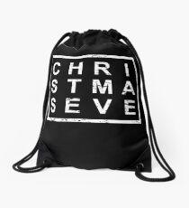 Stylish Christmas Eve Drawstring Bag