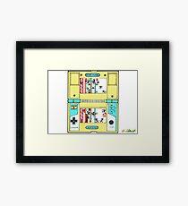 Super Game & Watch Maker Framed Print