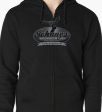 Johnny's School Of Dance Zipped Hoodie