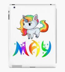 May Unicorn iPad Case/Skin