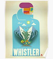 """""""Blauer Vogel-"""" Pfeifer, BC-Reise-Plakat Poster"""