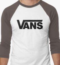 Vans Black Men's Baseball ¾ T-Shirt