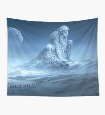 Human Wanderer Wall Tapestry