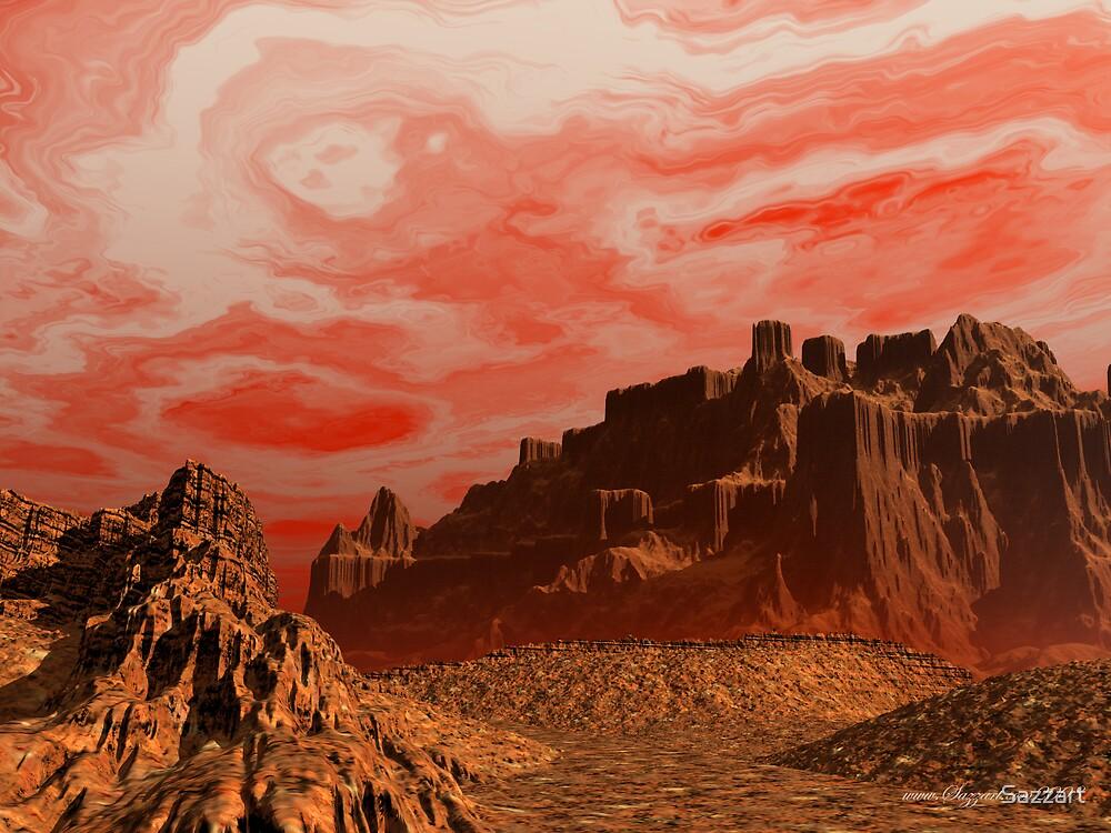 Sandstorm by Sazzart