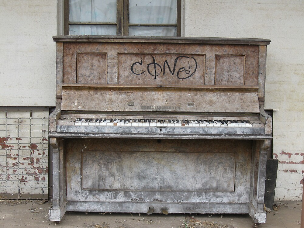 The Old Piano Blues by Judy Woodman
