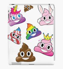Dummer Whacky Spaß-Poop Emoji-Land-Sammlung iPad-Hülle & Klebefolie