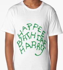 Happee Birthdae Harry Long T-Shirt