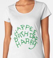 Happee Birthdae Harry Women's Premium T-Shirt