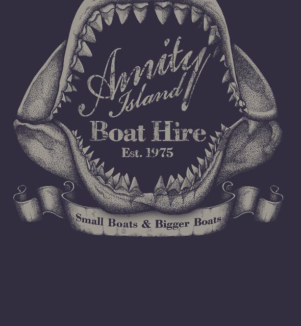 Amity Island Boat Hire - Vintage by rubyred