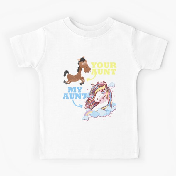 Baby T-shirt Tees Clothing for Boys Born to Go Rugby with My Auntie Girls
