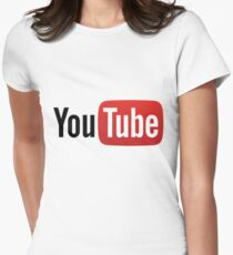 YouTube Women's Fitted T-Shirt