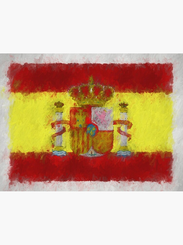 Spain Flag Reworked No. 66, Series 4 by 8th-and-f